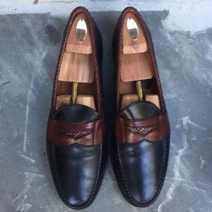 Allen Edmonds Black and Brown Loafers